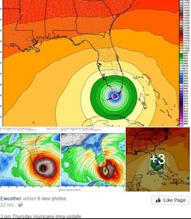 Hurricane Irma models as of Thursday 3pm