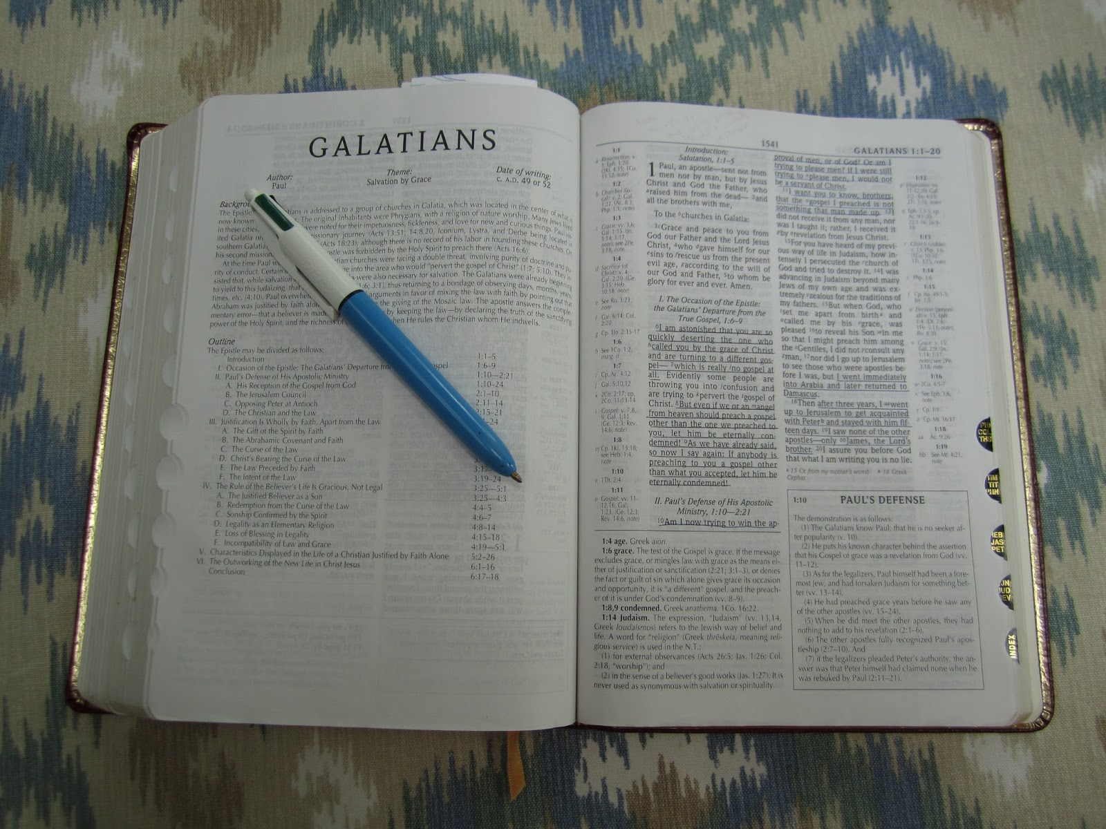 an analysis of the letter of galatians in the bible This epistle of st paul to the galatians presents the theme of justification by his second missionary journey (acts 16:6) the letter of st paul to the galatians was actually his letter to the ephesians in the new testament of the bible the conversion of saul.