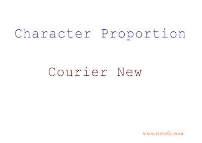 Character Proportion | ristofa.com