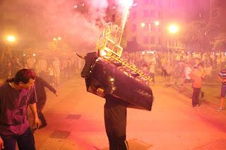 Fiesta de la noche de San Juan en Barakaldo