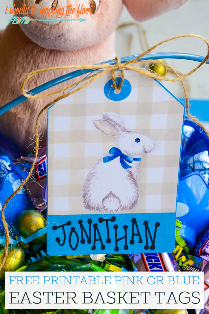 Easter Basket Tags