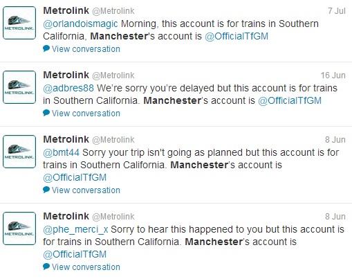 Open Letter to Metrolink
