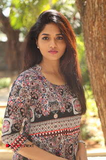 Actress Sunaina Latest Stills in Floral Dress at Pelliki Mundu Prema Katha Trailer Launch  0016.JPG