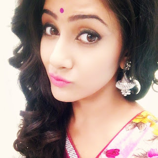 Trina Saha Star Jalsha Actress Pout