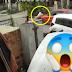 (Video) Budak main kejar-kejaran di jalan raya, dilanggar kereta