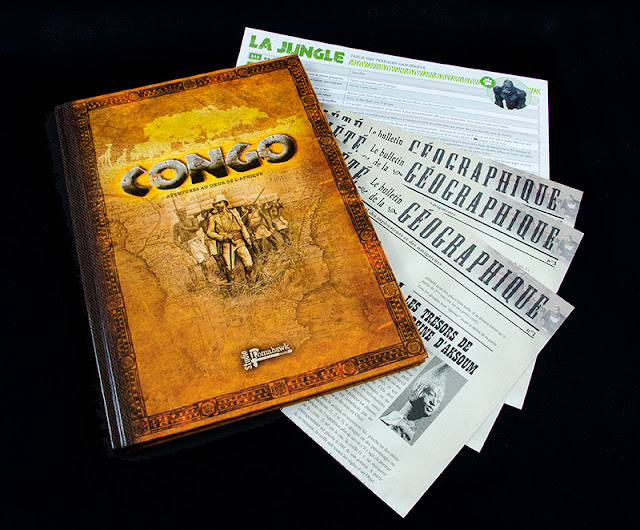 Resultado de imagen de CONGO studio tomahawk adventure paper
