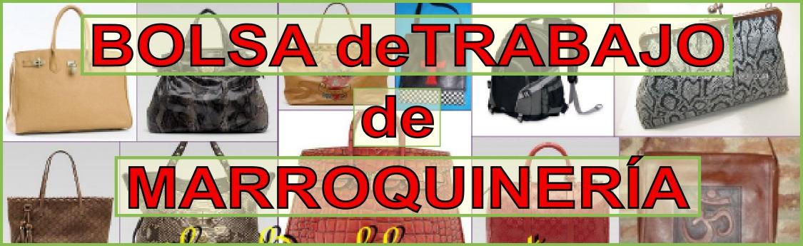 BOLSA DE TRABAJOS DE MARROQUINERÍA EN FACEBOOK