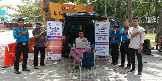 KPU Pariaman Tempatkan Pojok Pemilu di Objek Wisata