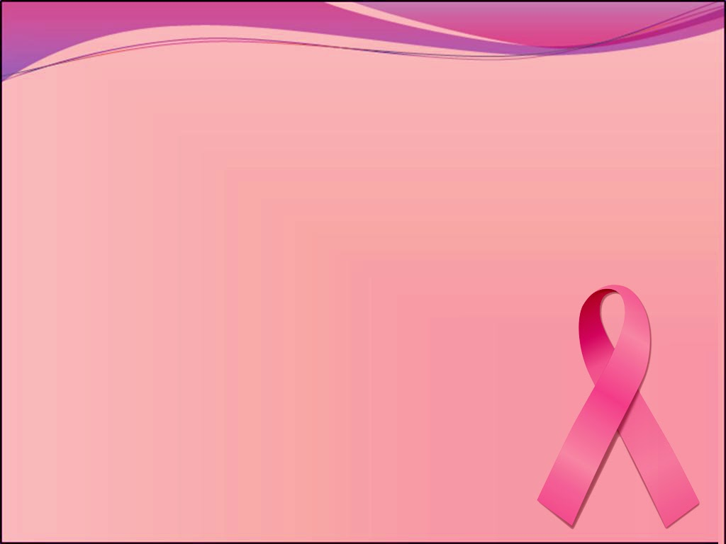 Ppt backgrounds templates july 2011 for Breast cancer ppt template
