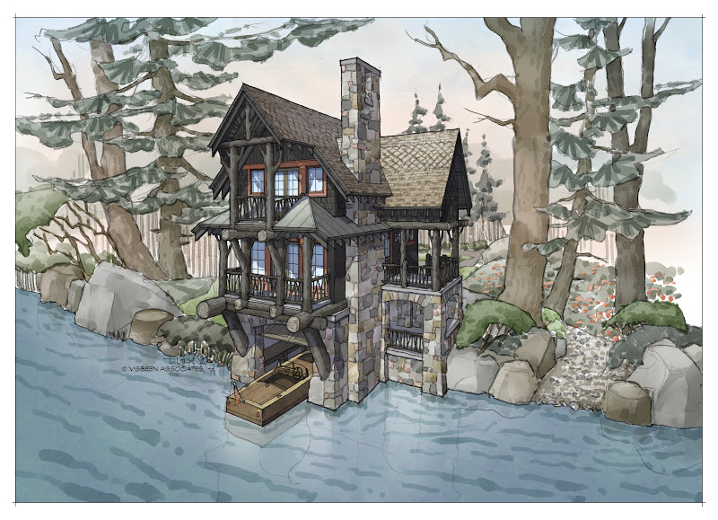 Architectural Tutorial: Boathouses