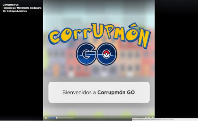 """Lanza su """"CorrupmónGo"""" la aplicación para atrapar a políticos corruptos"""