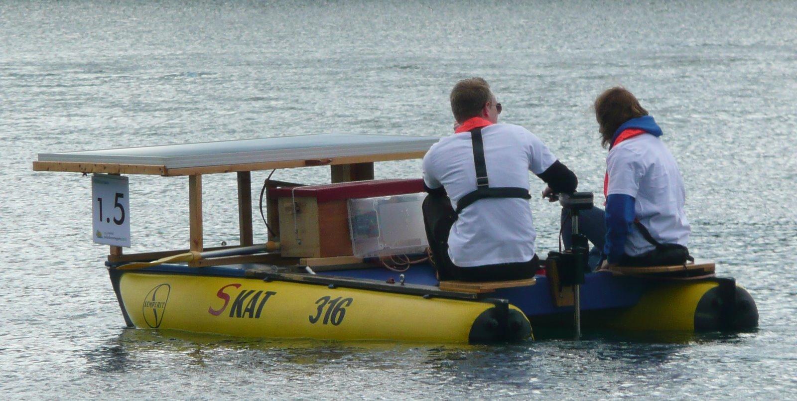 Solarboot Werbellinsee