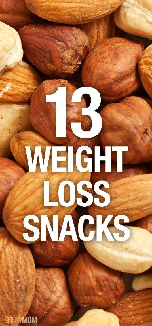 Boost Your Weight Loss with These 13 Snacks