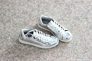 Fashion Review: Justfab - mein Sommerschuh und Taschen Haul - Sapphire Sneaker
