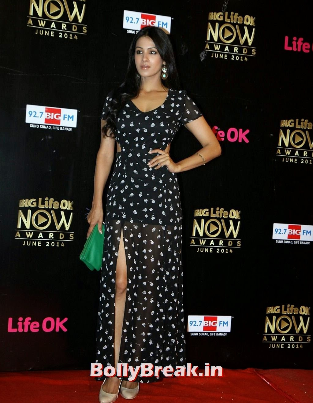 Barkha Bisht  HD pics from Life Ok Now Awards 2014, Barkha Bisht Latest Hot HD Pics from Life Ok Now Awards 2014