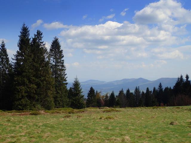 Panoramy z polany Jaworze