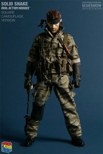 Cosplay Guides Metal Gear Solid 3 Snake Eater Naked Snake -6279