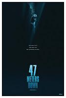 47 Meters Down Movie Poster 1