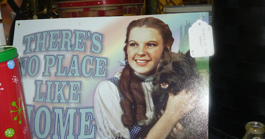 The Wizard of Oz at Scranberry Coop antique Store
