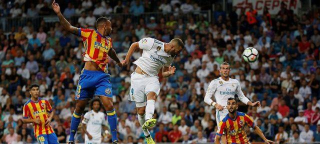 Real Madrid vs Valencia Imbang 2-2