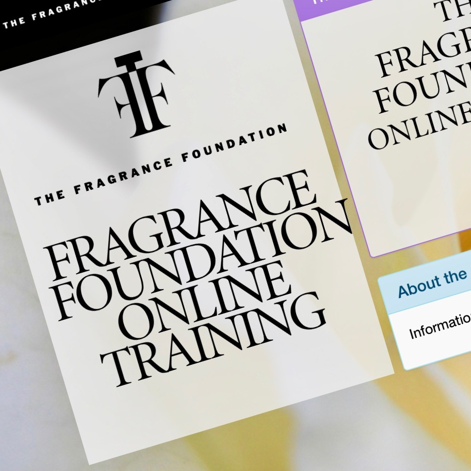 The Fragrance Foundation Online Training Course
