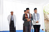 <b>Ahyar-Mori Disambut Hangat 10 ribu Massa di Ponpes Maraqitta'limat Lombok Timur </b>