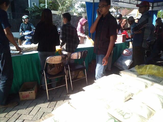 Bazar Sembako Murah Lazismu Jember
