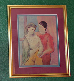 pablo picasso the lovers painting