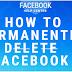 Delete Facebook Account 2019