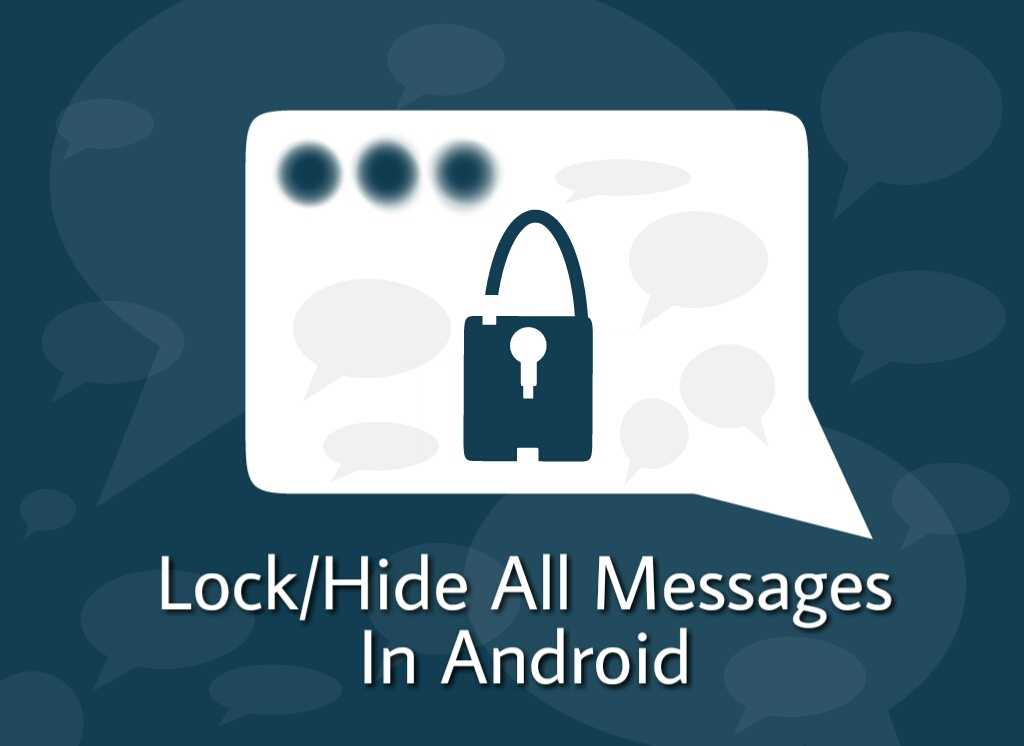 hide sms in android