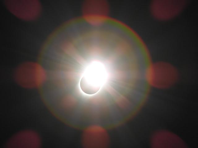 טבעת היהלום בסוף הליקוי
