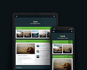 Kuro - plantilla responsive para blogger