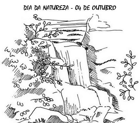 Desenhos De Paisagens De Natureza