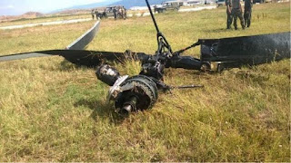 Σοβαρό ατύχημα με ελικόπτερο της Αεροπορίας Στρατού στη Μαγνησία