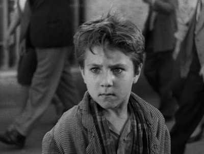 the son, the movie's highly emotional climax scene, bicycle thieves, directed by vittorio de sica