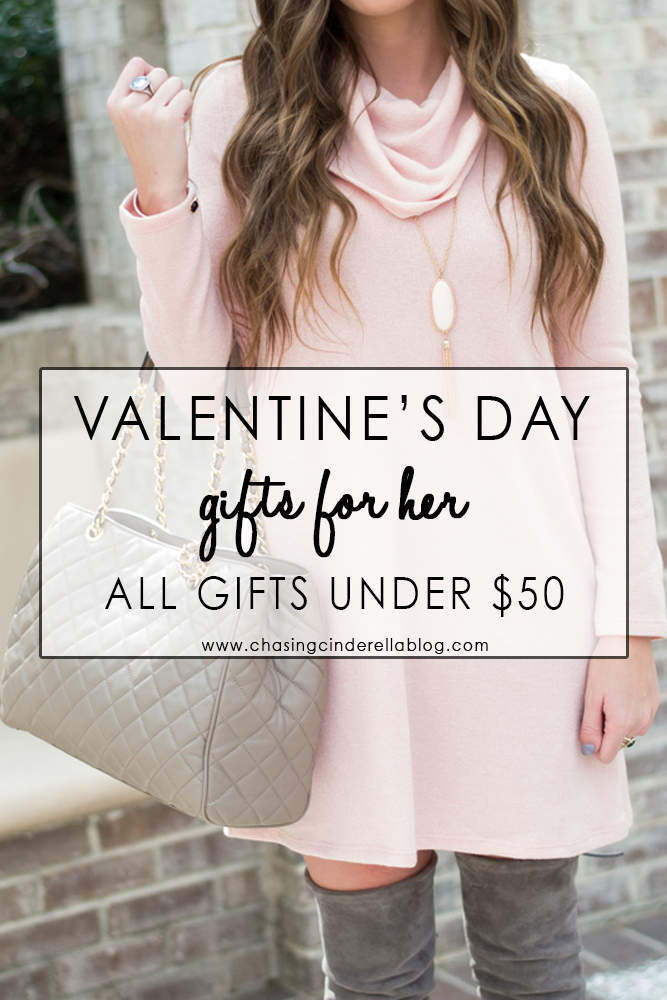Valentine's Day Gifts Under $50 | Chasing Cinderella