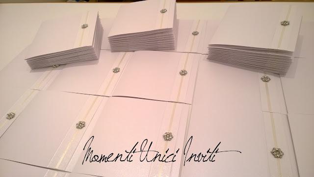 sa1 Le partecipazioni della collezione Luxury di Sara e MassimilianoCollezione Luxury Colore Bianco Linea Luxury Partecipazioni intagliate Serie Luxury