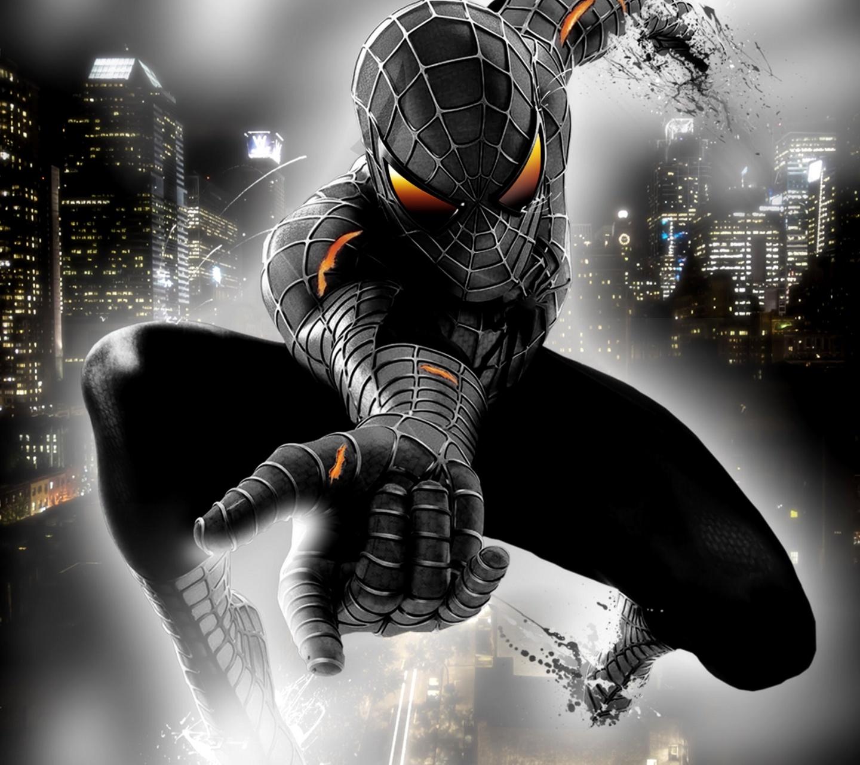 Free Download Windows 8 Themes: Black Spiderman 3 Theme