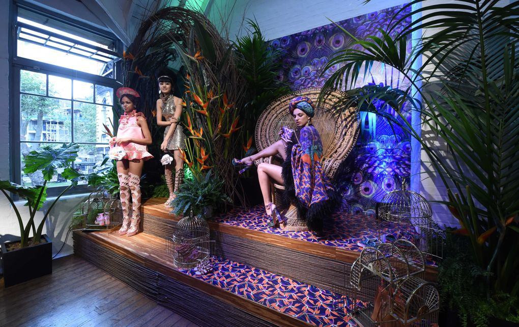 Sophia Webster SS17 - the birds of paradise