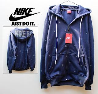 Jaket Fleece Hoodie Nike NK003