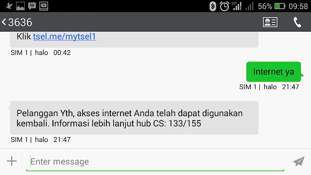 Cara atasi tidak bisa akses internet di kartu Telkomsel