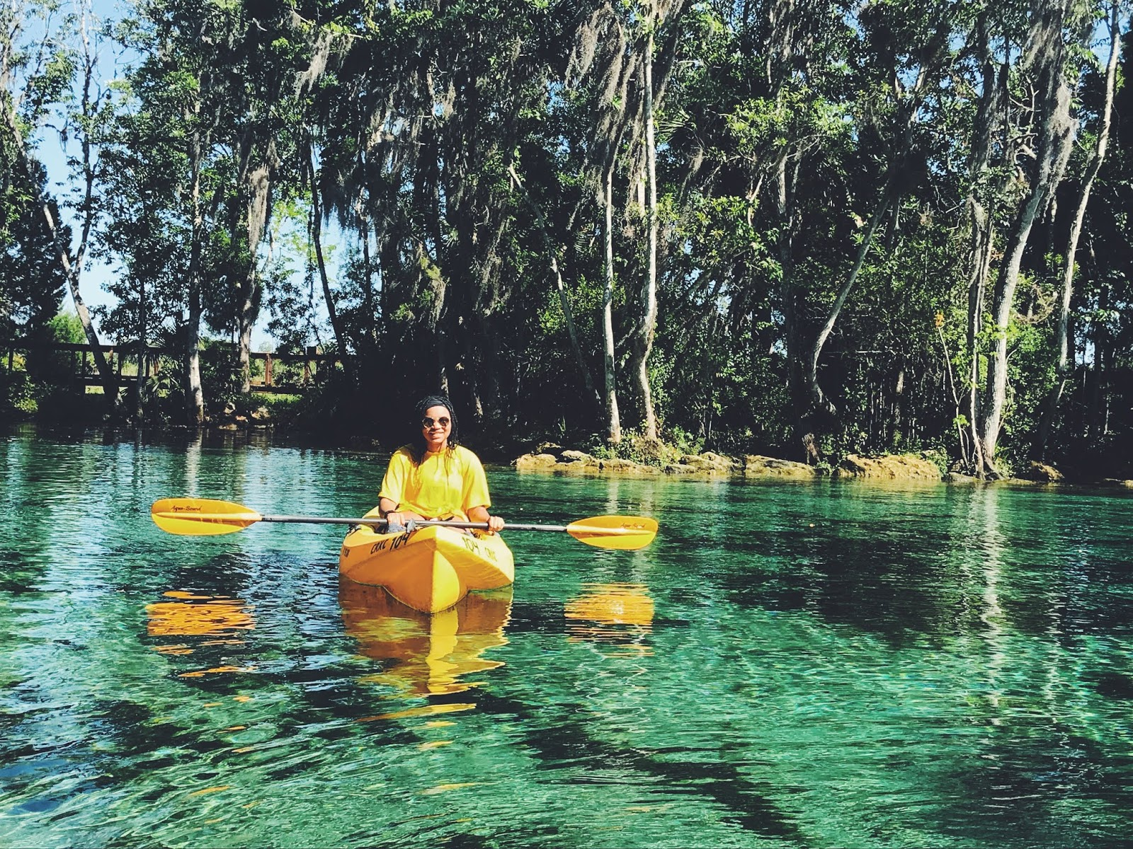 crystal river manatee kayak 7