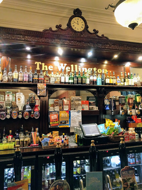 The Wellington Bar in Birmingham England