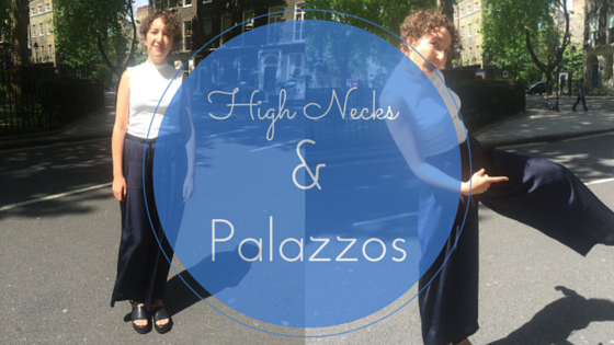 how to wear palazzo pants
