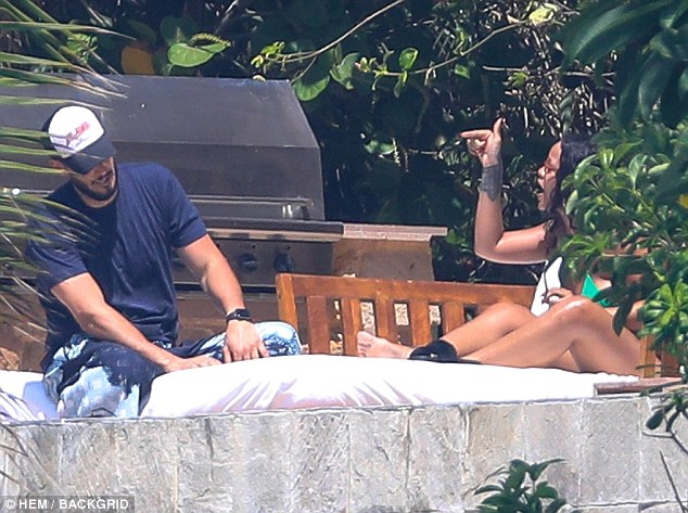 Rihanna caught on camera having a very tense exchange with Hassan Jameel during Mexico holiday