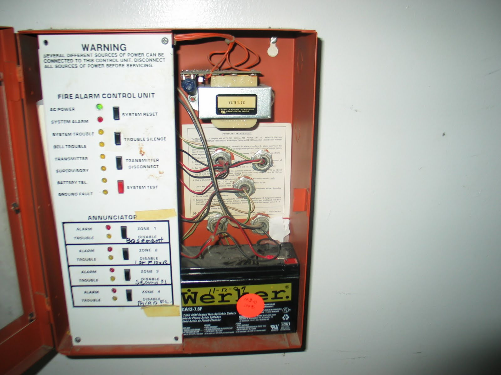 Wiring Besides Fire Alarm Bell Wiring Diagram On Fire Alarm Bell