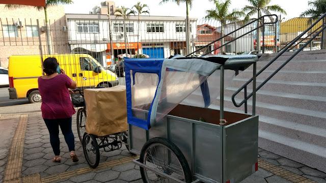 Triciclo de bebês. Como adaptar a bicicleta a um reboque
