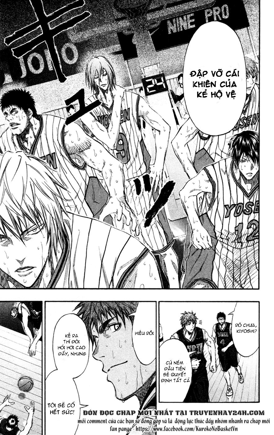 Kuroko No Basket chap 152 trang 3