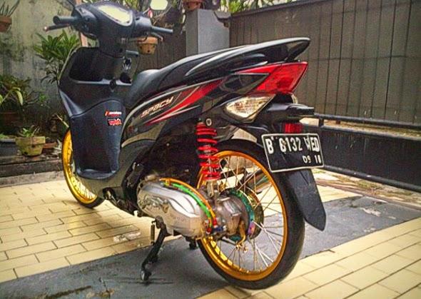 Modifikasi Motor Honda Spacy Velg JariJari Terbaru