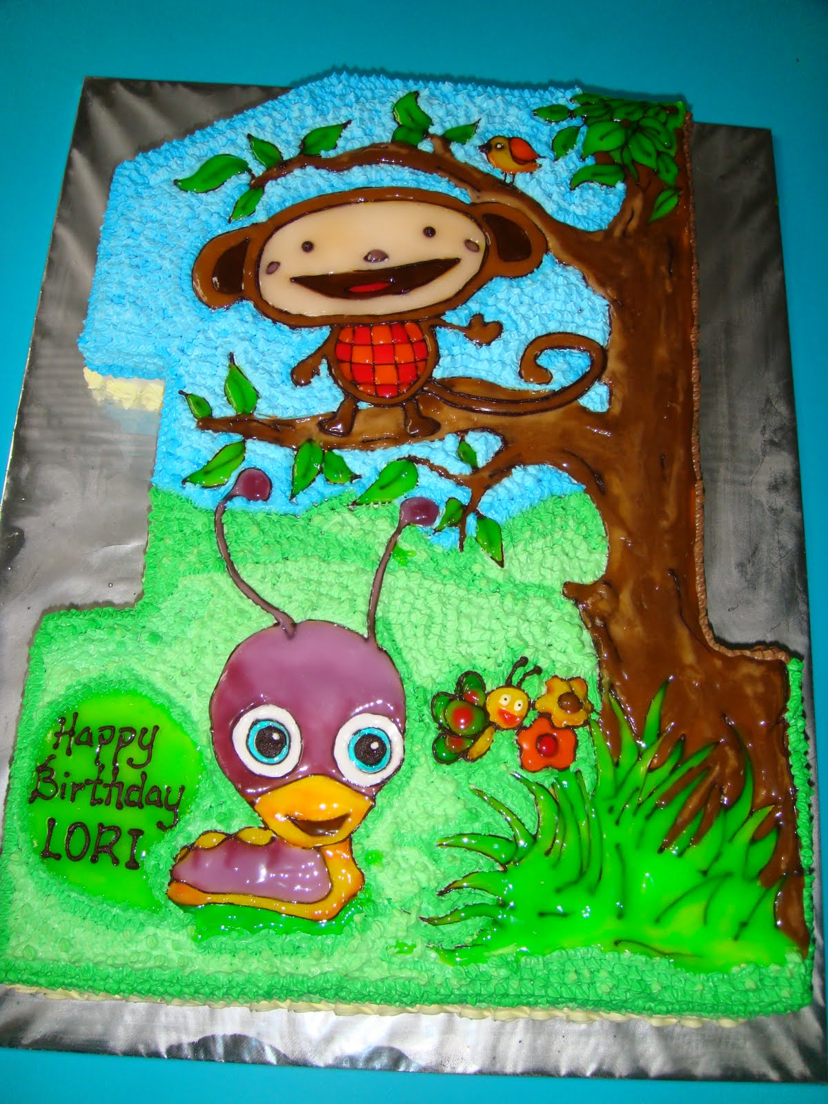 Yummy Baking Babytv Oliver And Tulli Birthday Cake